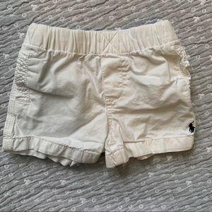 White shorts from Ralph Lauren